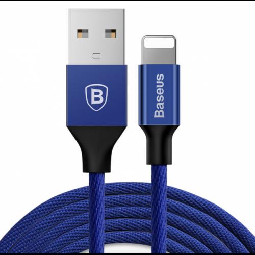 USB кабель Baseus Lightning Yiven 2A (1,2m) navy blue