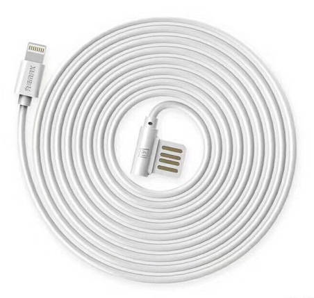 ✅ USB кабель Remax Lightning Rayen RC-075i 2.1А 1m white, фото 2