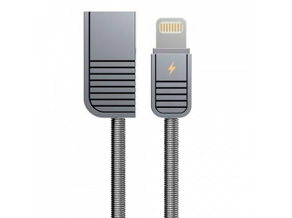 USB кабель Remax Lightning Linyo RC-088i 2.1A 1m silver, фото 2