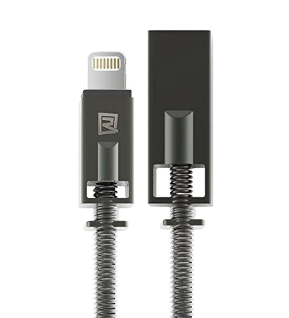 USB кабель Remax Lightning Royalty RC-056i 2.1A 1m black