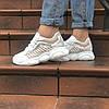 Женские летние кроссовки белые  SHABAOLI 36 размер, фото 4
