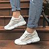 Женские летние кроссовки белые  SHABAOLI 36 размер, фото 6