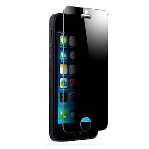 Защитное стекло  для iPhone 5/5s/SE Privacy Антишпион тех.упак.
