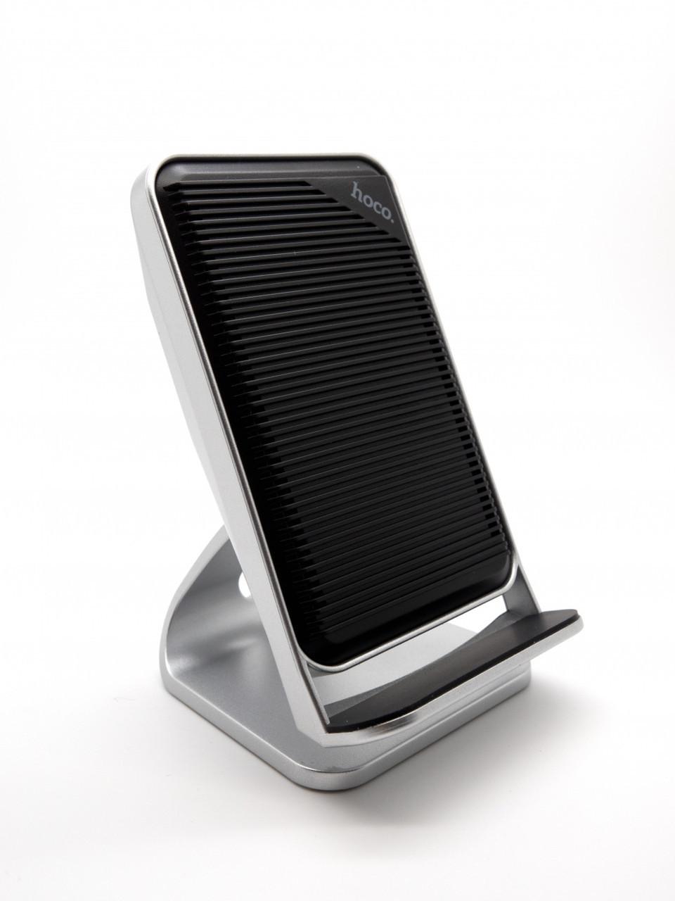 ✅ Беспроводная зарядка Hoco CW11 Wisewind Rapid 10W Silver