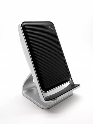 ✅ Беспроводная зарядка Hoco CW11 Wisewind Rapid 10W Silver, фото 2