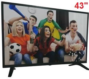 "Телевизор Comer,  Диагональ 43"" дюйма, Смарт ТВ + Т2, Смарт телевизор, Smart телевизор, Андроид телевизор"