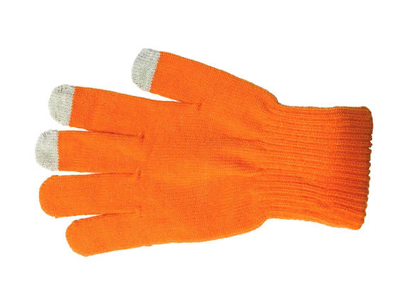 ✅ Перчатки iTouch для сенсорных экранов Orange, фото 2