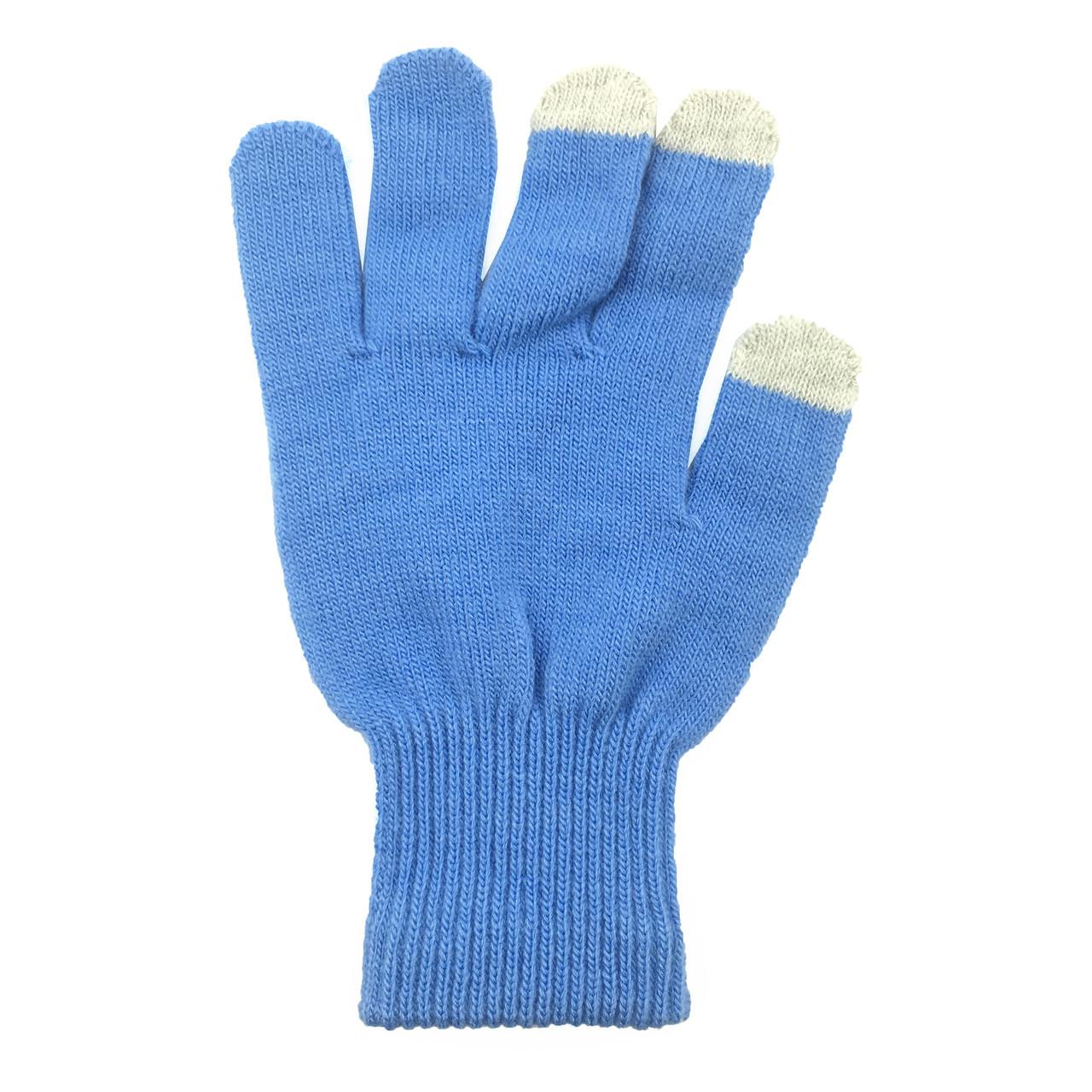 ✅ Перчатки iTouch для сенсорных экранов Sky blue