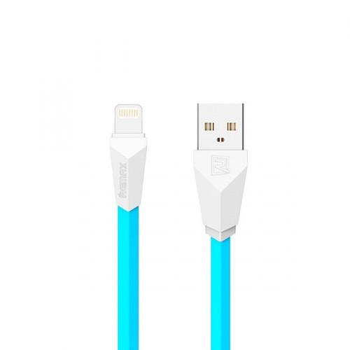 ✅ USB кабель Remax Lightning Aliens RC-30i (1m) blue/white