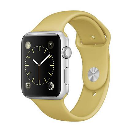 Ремешок xCase для Apple Watch Sport Band 38/40 mm Gold (M), фото 2