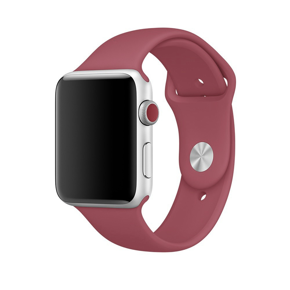 Ремешок xCase для Apple Watch Sport Band 42/44 mm Camelia (M)
