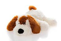 Мягкая игрушка собака 55 см белый