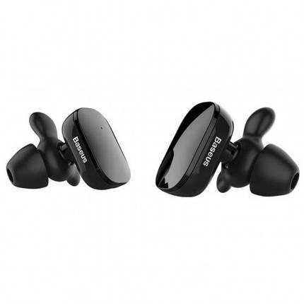 ✅ Наушники Baseus Premium W02 Encoc Truly Bluetooth Wireless черный, фото 2