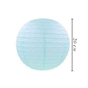 Подвесные бумажные шары плиссе 20 см