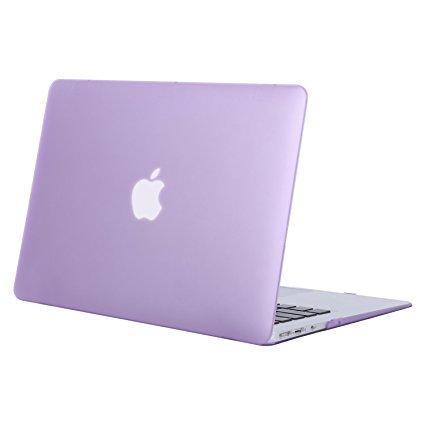 "Чехол накладка DDC пластик для MacBook Pro 13"" (2016/2017/2018) matte lilac"