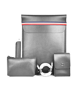 ✅ Сумка для ноутбука MacBook Wiwu Elite set 5in1 14'' gray
