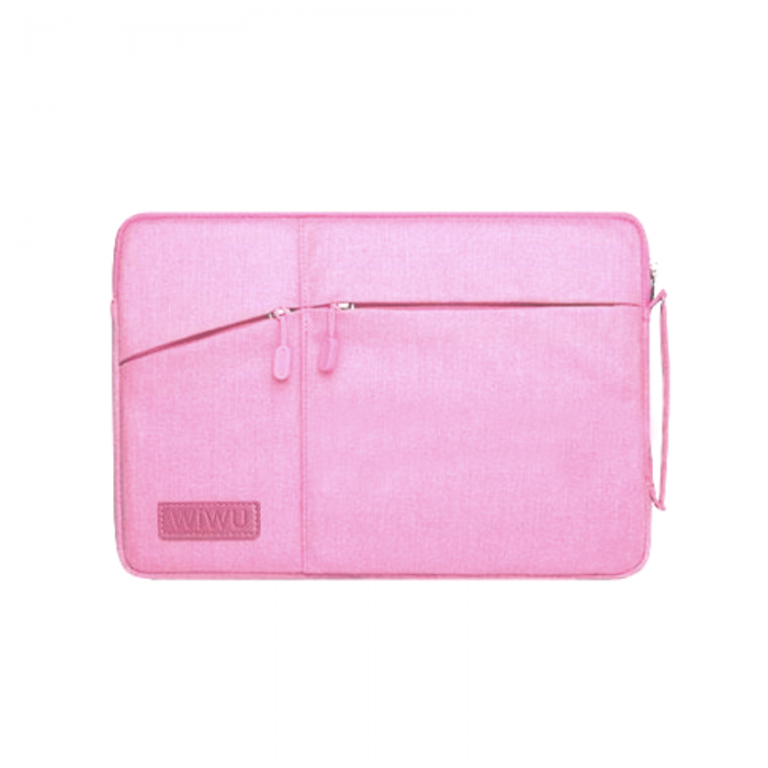 Сумка для ноутбука Wiwu Pocket Sleeve 12'' pink