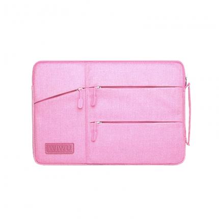 Сумка для ноутбука Wiwu Pocket Sleeve 12'' pink, фото 2