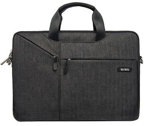 Сумка для ноутбука Wiwu Gent Brief 11.6'' black, фото 2