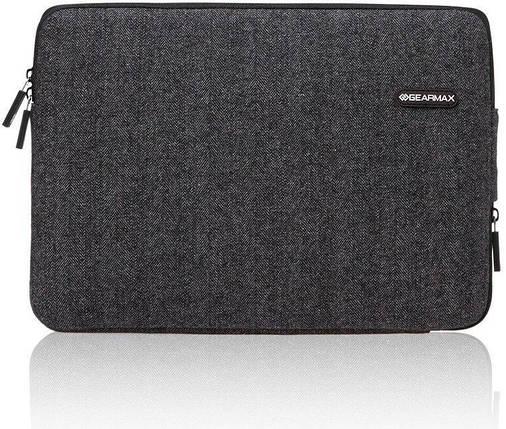 ✅ Сумка для ноутбука Wiwu Woolen Sleeve 11.6'' gray, фото 2