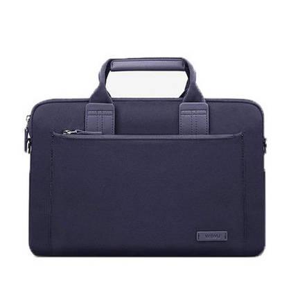 ✅ Сумка для ноутбука Wiwu Athena Slim 13.3'' blue, фото 2