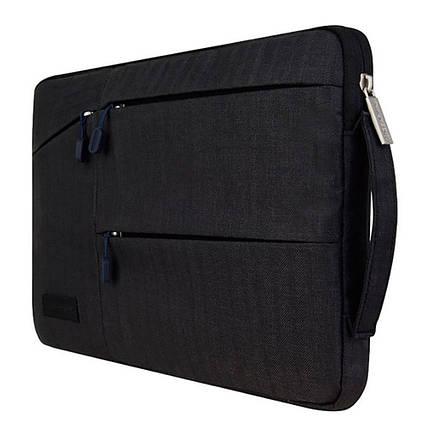 ✅ Сумка для ноутбука Wiwu Gent Pocket Sleeve 15.4'' black, фото 2
