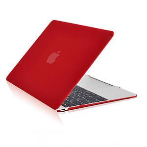 "✅ Чехол накладка DDC пластик для MacBook Air 13"" (2018) matte red"