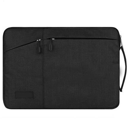 ✅ Сумка для ноутбука Wiwu Pocket Sleeve 12'' black, фото 2