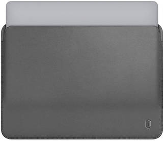 ✅ Папка конверт Wiwu Skin Pro Leather для MacBook 15'' gray