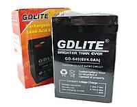 Аккумулятор BATTERY GD 640 6V 4A, аккумулятор общего назначения