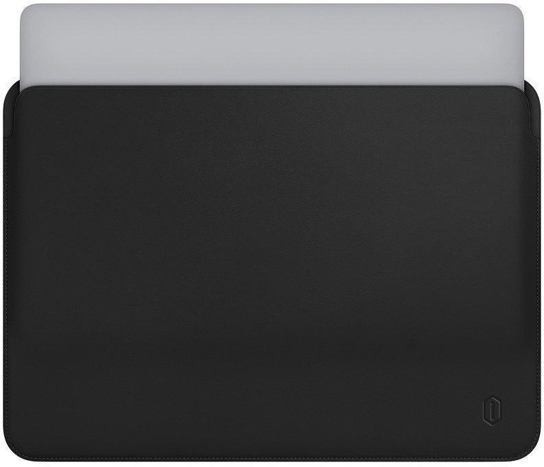 Папка конверт Wiwu Skin Pro Leather для MacBook 15'' black