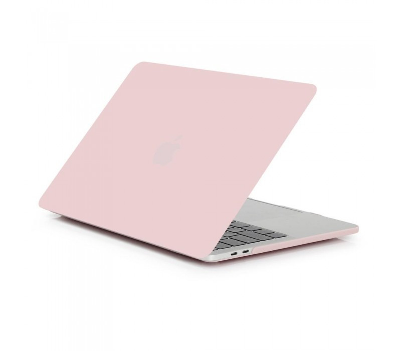 "Чехол накладка DDC пластик для MacBook Air 13"" (2018) matte pink sand"