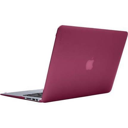 "Чехол накладка DDC пластик для MacBook Air 13"" (2018) matte wine red, фото 2"