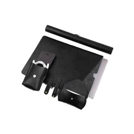 Сумка для ноутбука MacBook Wiwu Elite set 4in1 14'' black, фото 2