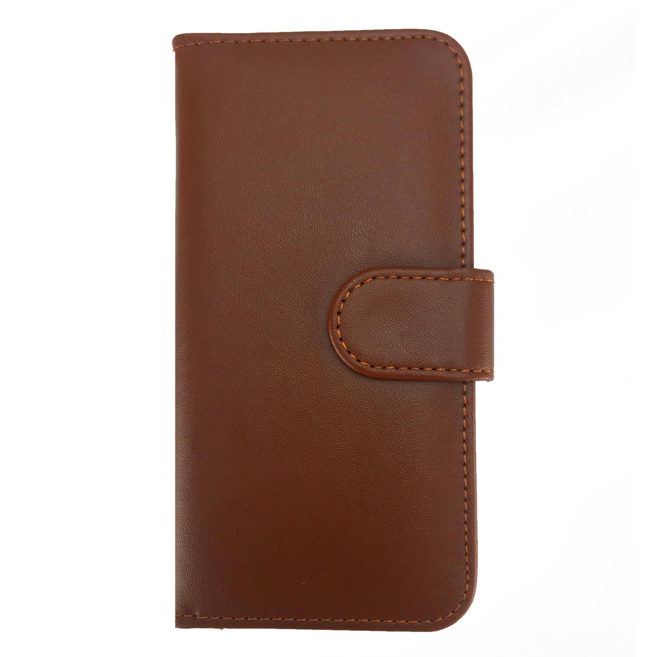 ✅ Чехол книжка на iPhone 5/5s/SE Flip Wallet коричневый