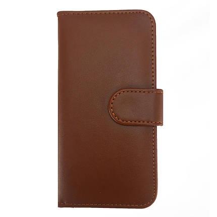 ✅ Чехол книжка на iPhone 5/5s/SE Flip Wallet коричневый, фото 2
