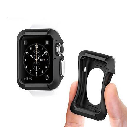 ✅ Чехол для Apple watch 42 mm Sport black, фото 2