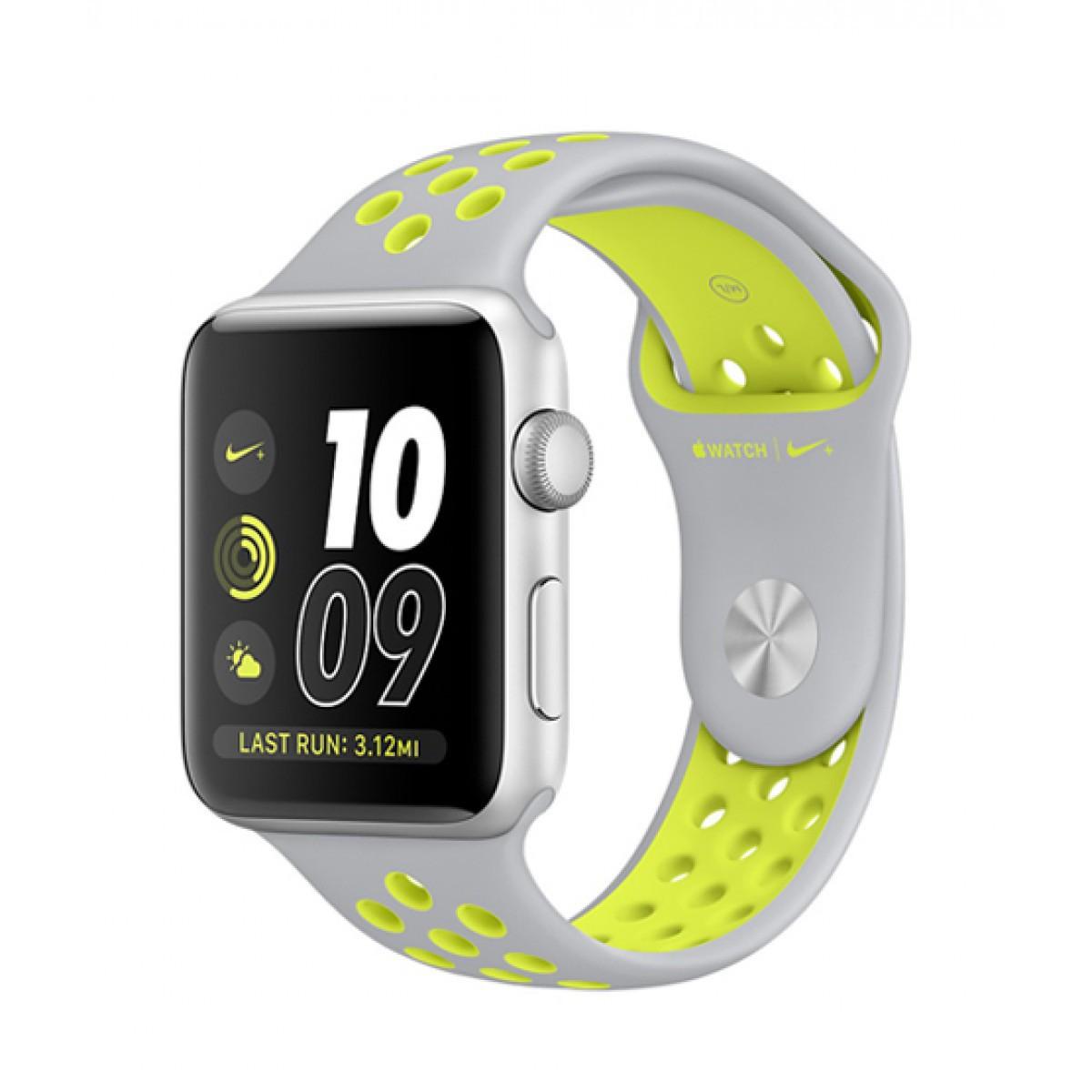 Ремешок xCase для Apple Watch Sport Nike 42/44 mm Platinum yellow