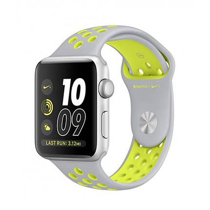 Ремешок xCase для Apple Watch Sport Nike 42/44 mm Platinum yellow, фото 2
