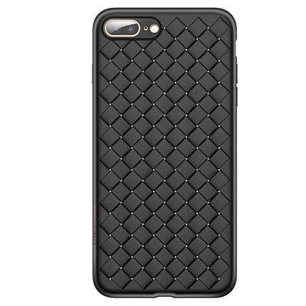 ✅ Чехол накладка xCase на iPhone 7 Plus/8 Plus Weaving Case черный, фото 2