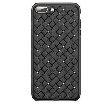 Чехол для iPhone 7 Plus/8 Plus Weaving Case черный, фото 2