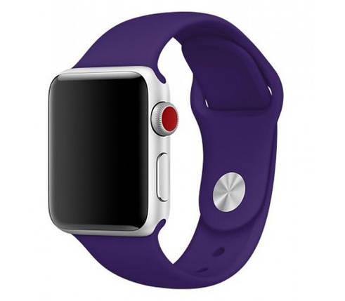 Ремешок xCase для Apple Watch Sport Band 42/44 mm Ultra violet (S), фото 2