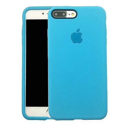 Чехол для iPhone 7 Plus/8Plus Soft case голубой, фото 2