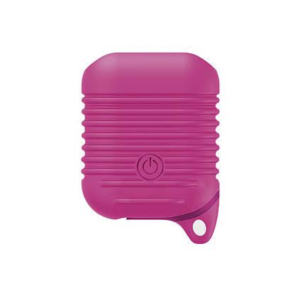 Чехол для AirPods Full Protection Barbie pink, фото 2