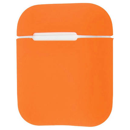 Чехол для AirPods Ultra Slim оранжевый, фото 2