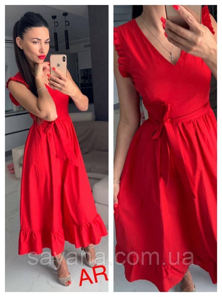Женское летнее платье в расцветках. АР-11-0519