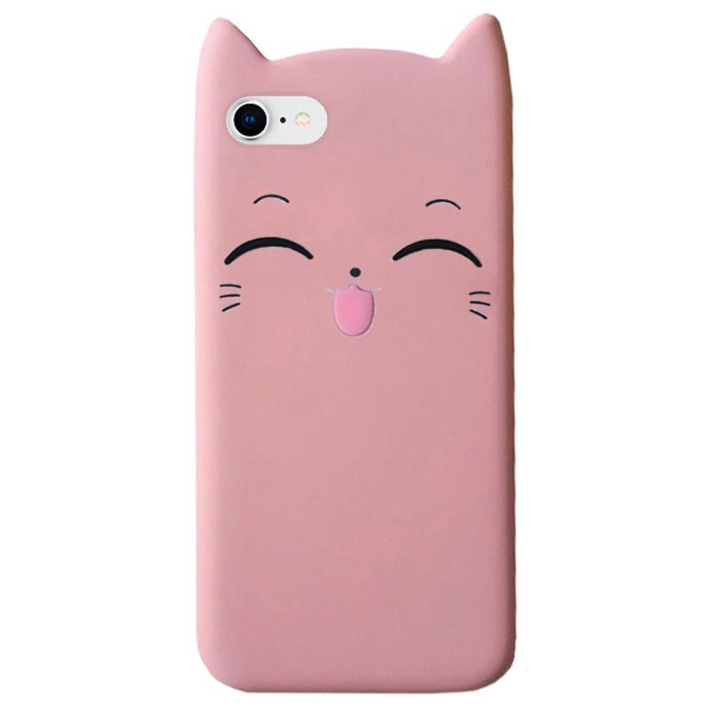 Чехол на iPhone 6/6s Cartoon Cat powder