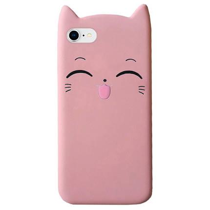 Чехол на iPhone 6/6s Cartoon Cat powder, фото 2