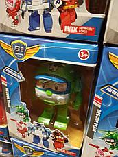 Трансформери Robocar Poli - Полі Робокар набір з 4 героїв, фото 3