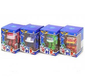 Трансформери Robocar Poli - Полі Робокар набір з 4 героїв, фото 2